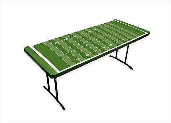 tabletopit football field tablecloth