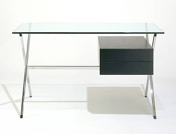 modern glass computer desk