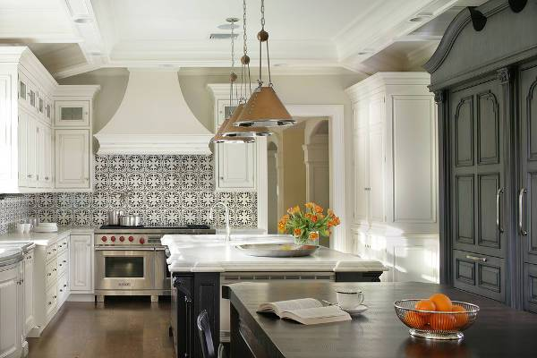 black and white tile kitchen backsplash 15 backsplash tile designs ideas design trends 9285