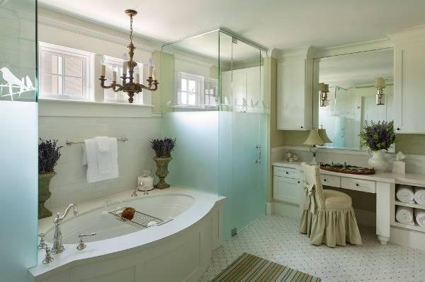 etched glass shower door