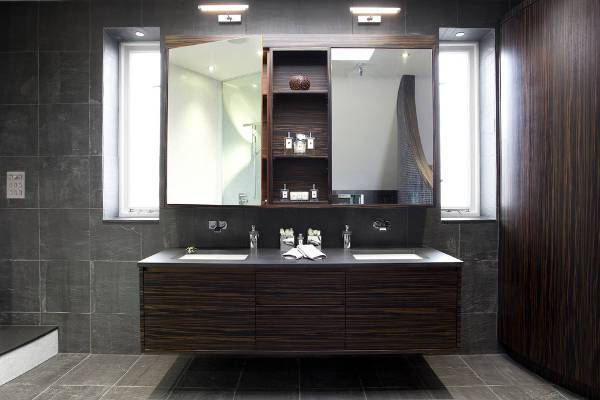 contemporary bathroom mirror cabinets
