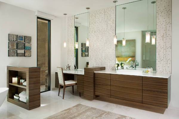 contemporary modern bathroom cabinets