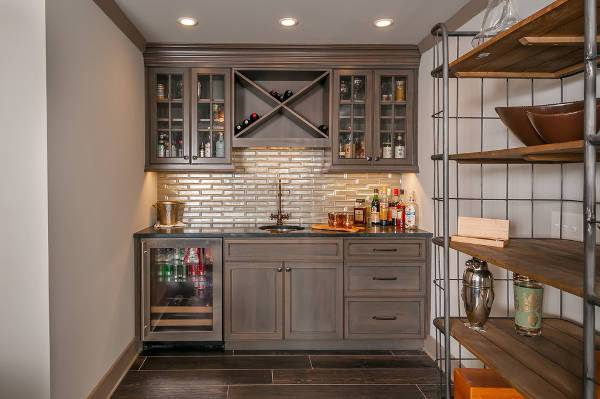wet bar wall cabinets