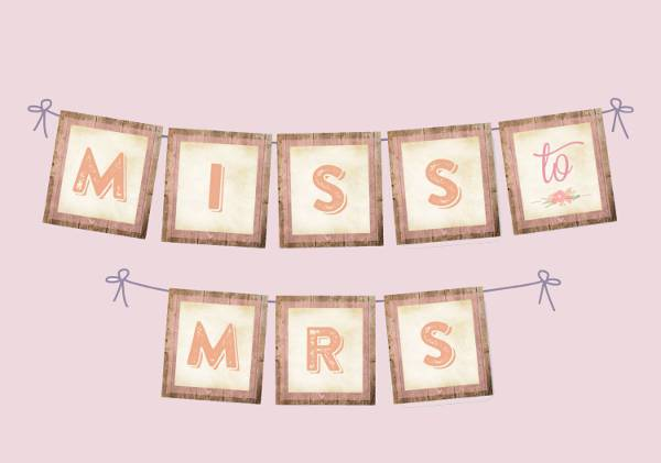 Fabulous 10+ Bridal Shower Banners - Free PSD, AI, Vector EPS Format  SK73