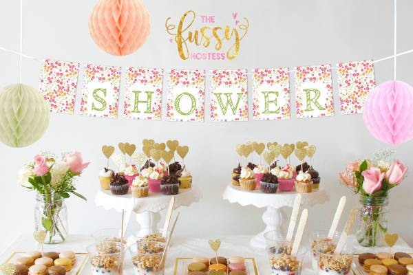 awesome printable bridal shower banner