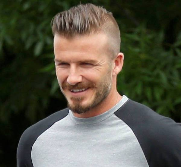 david beckham high fade comb over haircut