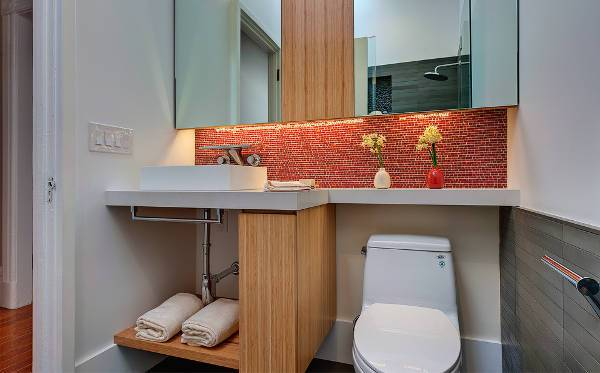 ceramic vessel bathroom sink