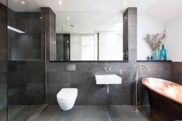 modern wall mount bathroom sink