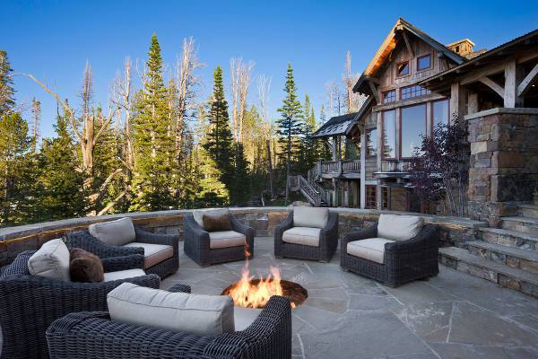 outdoor in ground fire pit