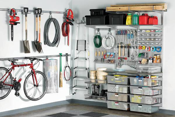 industrial diy garage cabinets