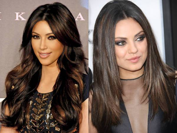 Dark Hair Colours