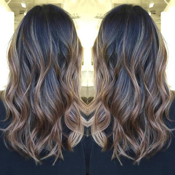Dark Hair Balayage