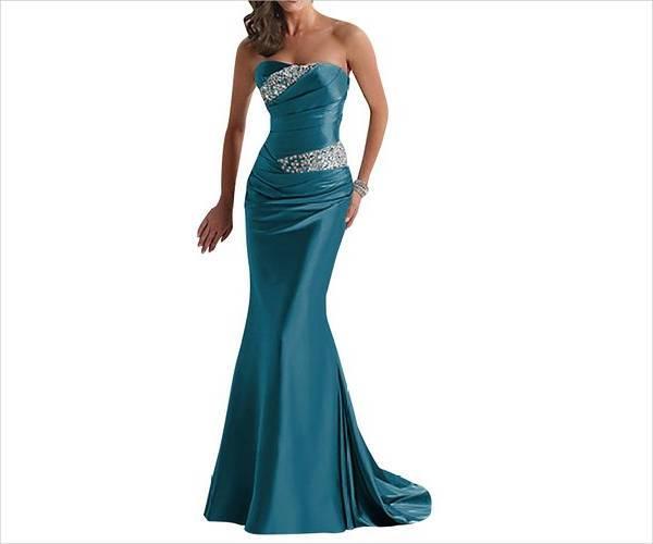 cool strapless evening dress