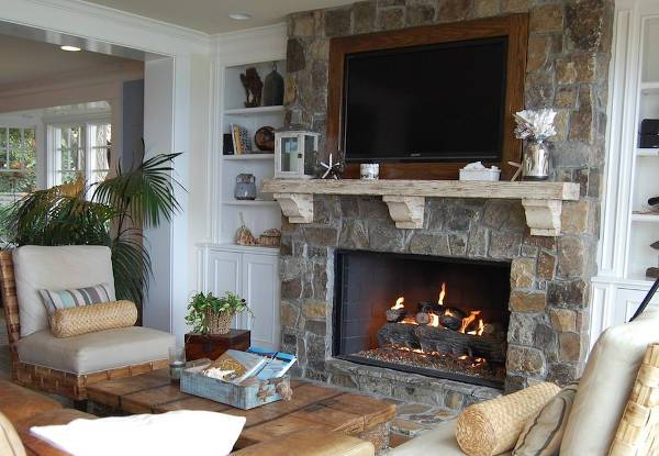 cool diy fireplace mantel