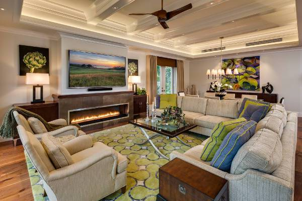 Luxury Wood Fireplace Mantel