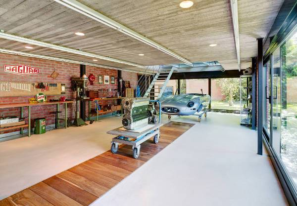 Garage modern  15+ Garage Designs, Ideas | Design Trends - Premium PSD, Vector ...