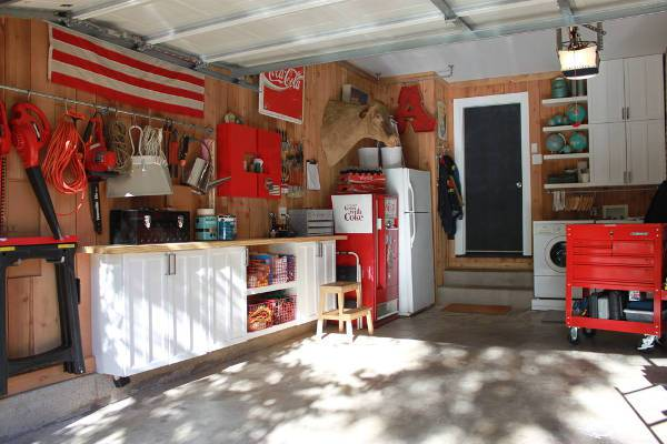small garage interior design