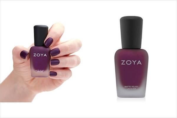 zoya nail polish in iris
