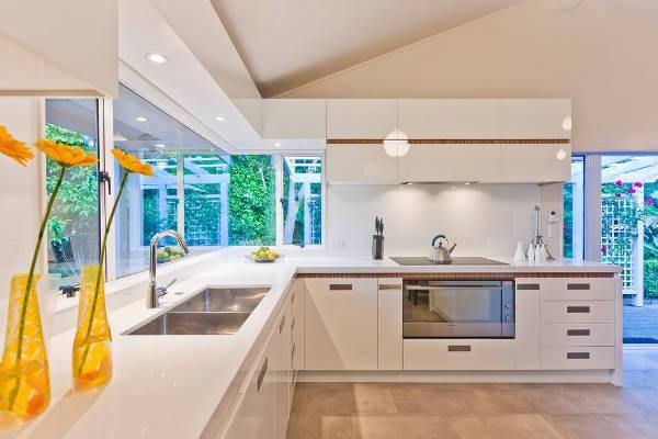 contemporary undermount kitchen sink