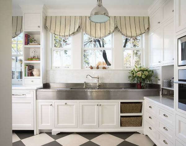 large commercial kitchen sink