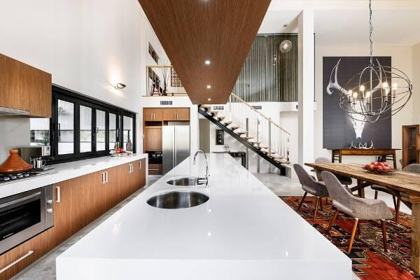 contemporary modern kitchen sink