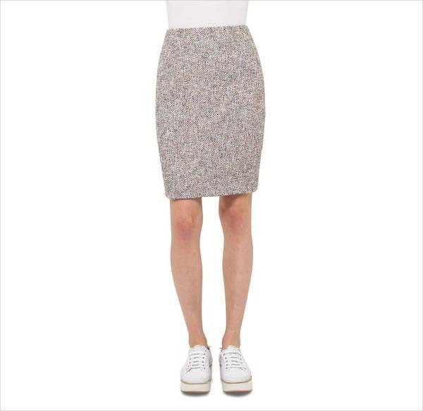 modern short pencil skirt