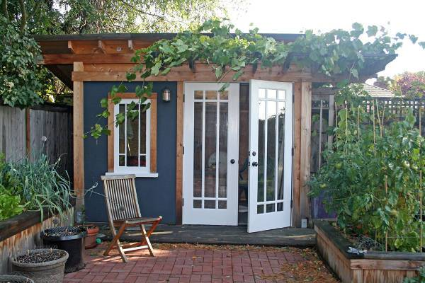 shed double door design