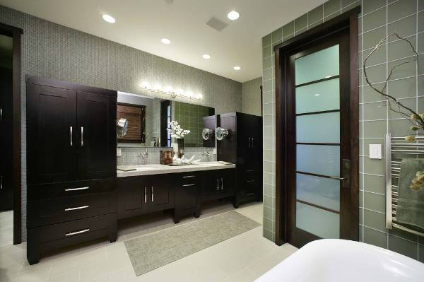 master bathroom door design