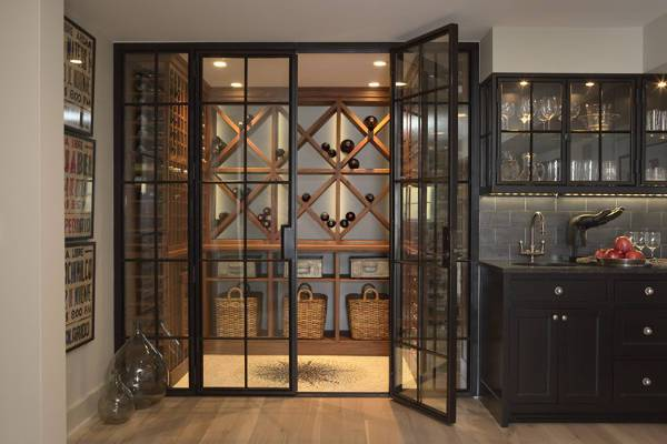 wine cellar door design