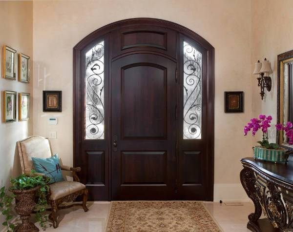 traditional wood door design