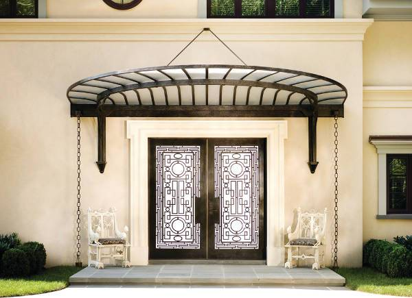 entrance metal door design
