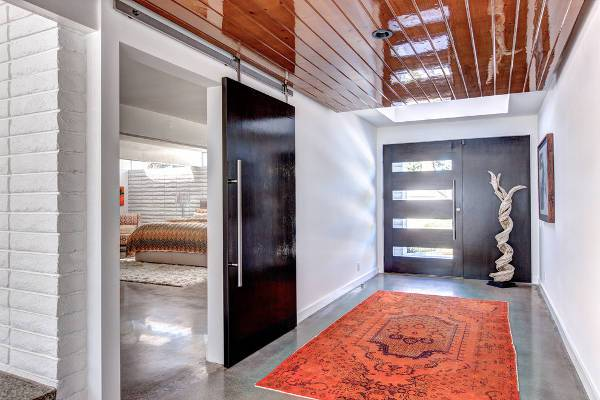 contemporary modern door design