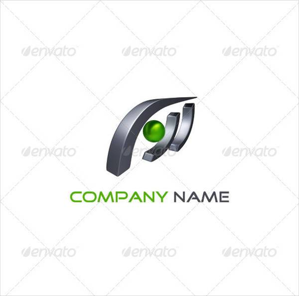 professional 3d abstarct logo design