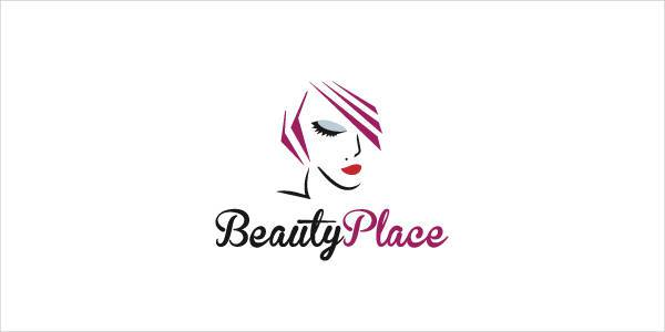 professional girl beauty logo
