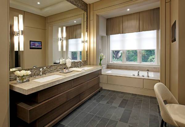undermount bathroom sink design