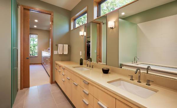 contemporary undermount sink design