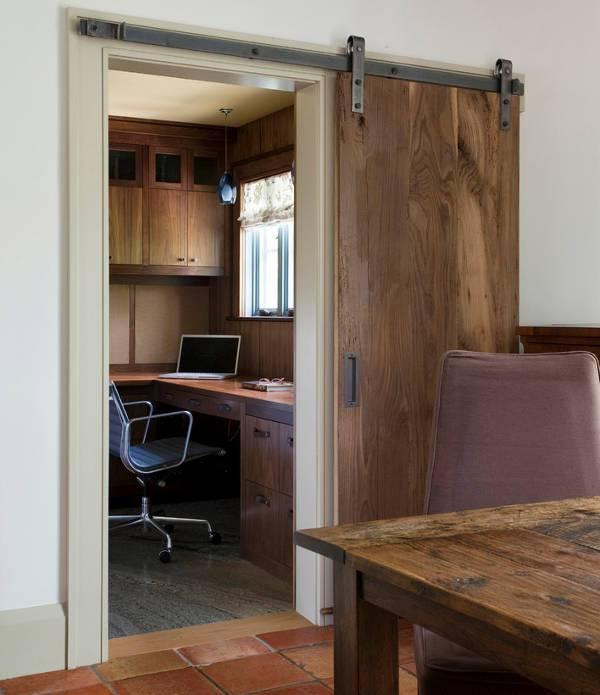 diy wood sliding door