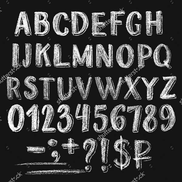 best chalkboard lettering font