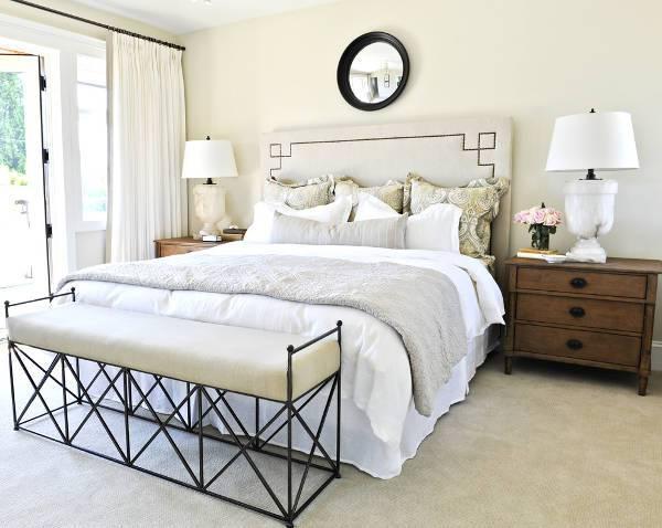traditional bedroom headboard design