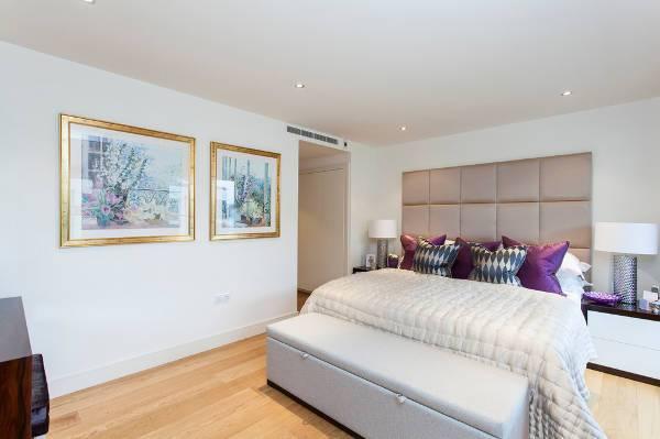 padded bedroom headboard design
