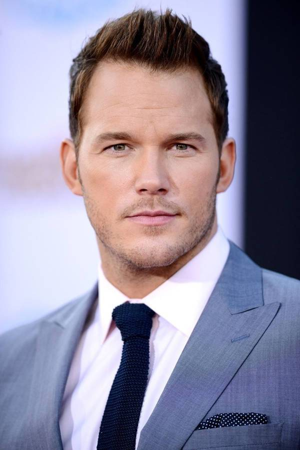 chris pratt short spiky haircut for men