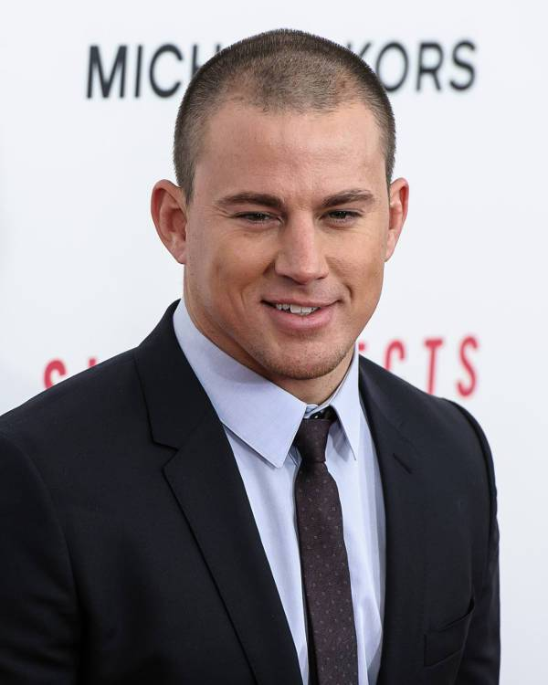channing tatum short blad haircut for men