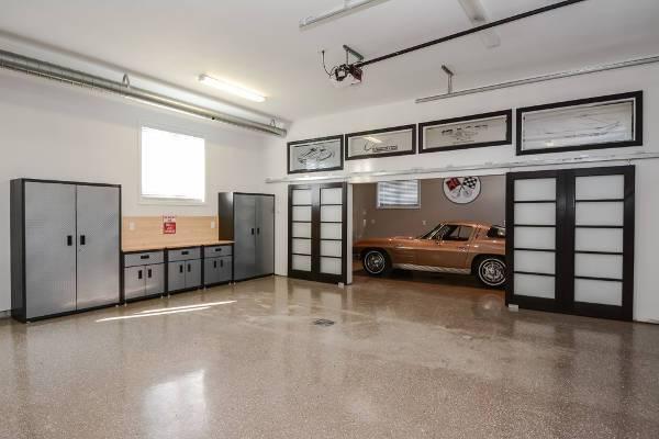 contemporary garage cabinet doors