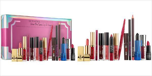 sephora favorites give me some lip liner makeup set