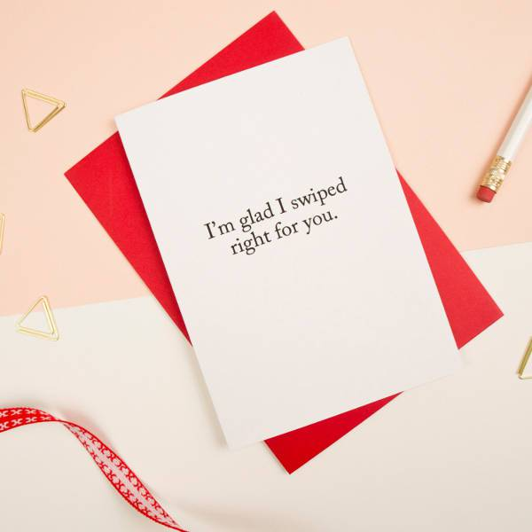 tinder valentines card