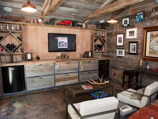 10 masculine man cave ideas design trends premium psd for Man cave kitchen ideas