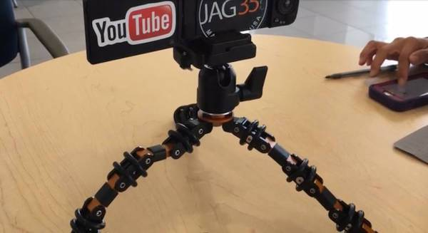 flexible vlogging tripods