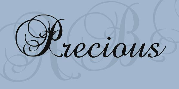 cursive script tattoo font