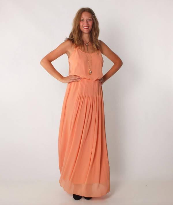vintage chiffon bridesmaid dress