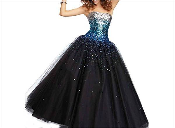 cool sequin quinceanera dress